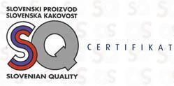 SQ, SLO proizvod in kakovost