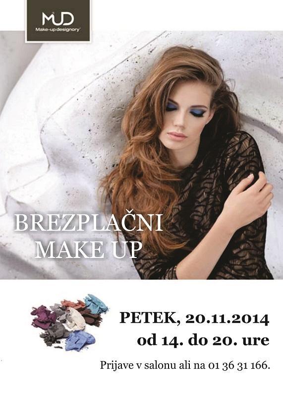 Plakat - brezplačni make up2