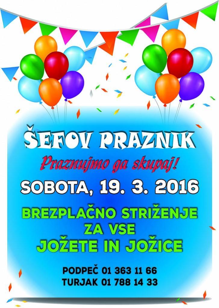 ŠEFOV PRAZNIK 2016